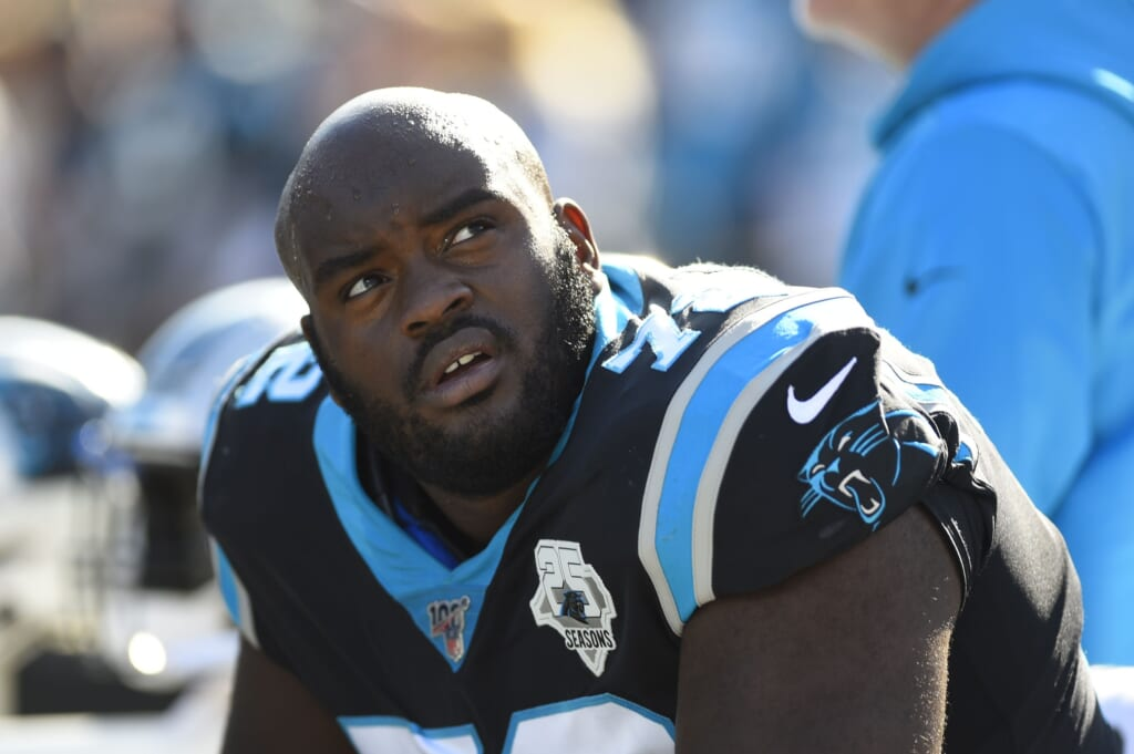 What Taylor Moton franchise tag means for Panthers