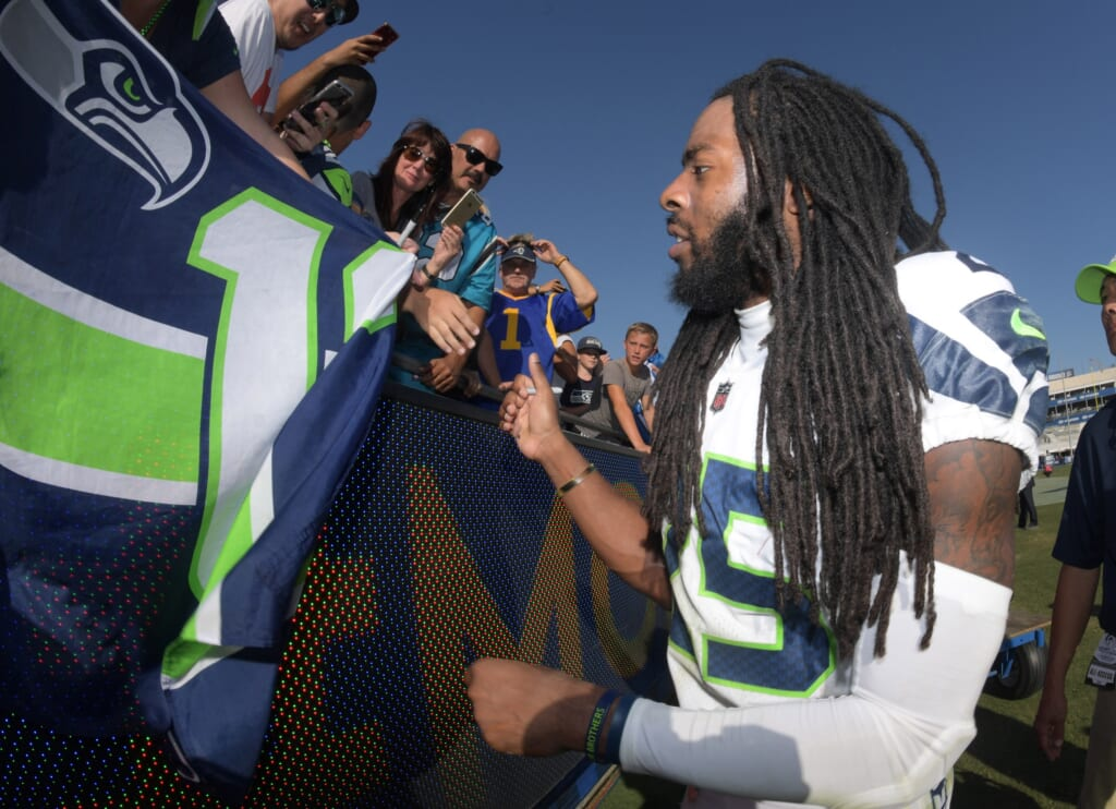 Richard Sherman can still play, and knows the Seahawks' defense cold