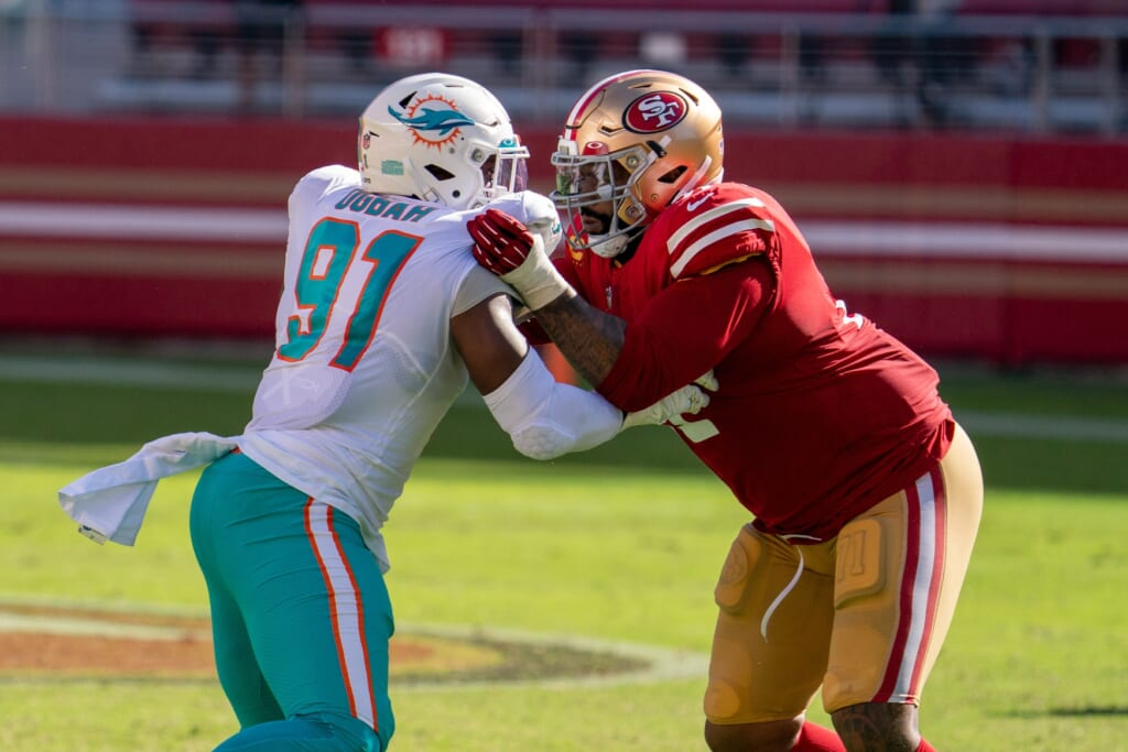 What can the 49ers do after they extend Trent Williams?