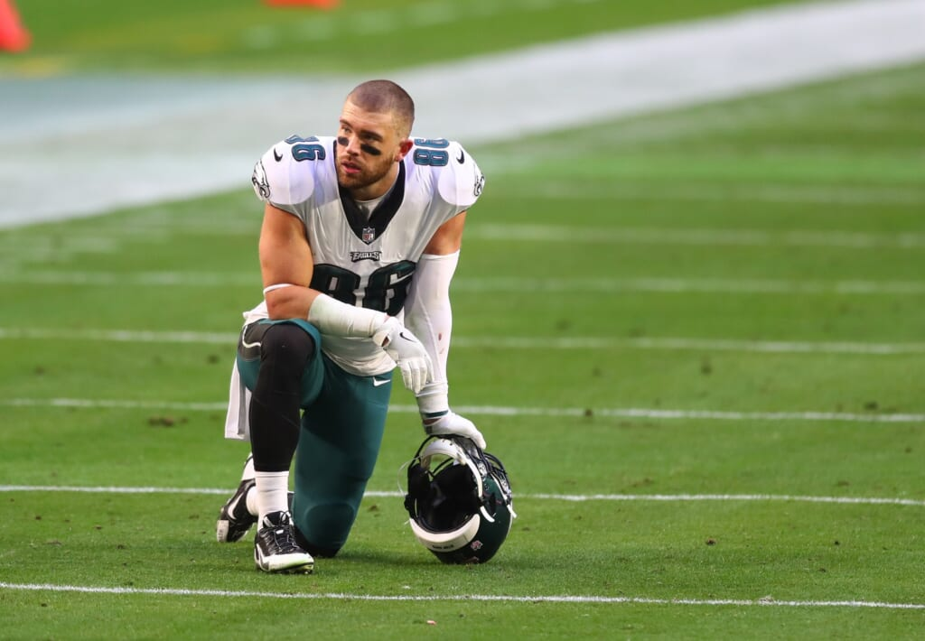 Philadelphia Eagles should release or trade Zach Ertz