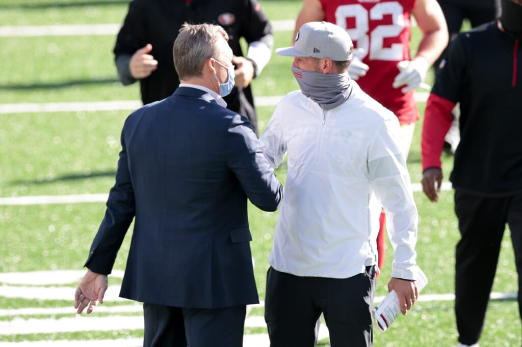 San Francisco 49ers: Losers in Julio Jones trade.