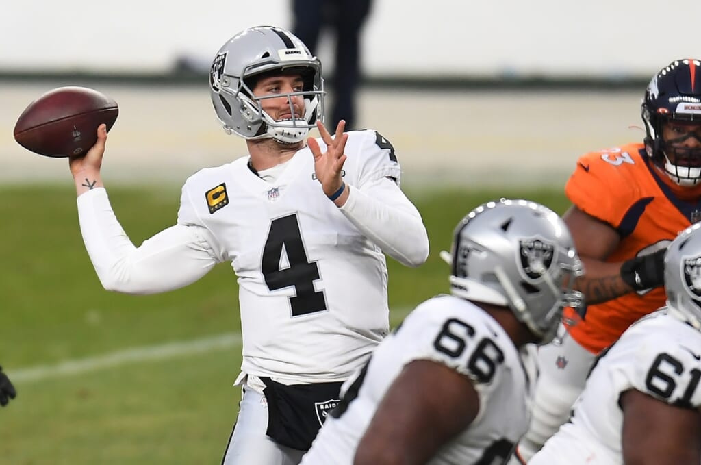 Green Bay Packers trade Aaron Rodgers for Derek Carr