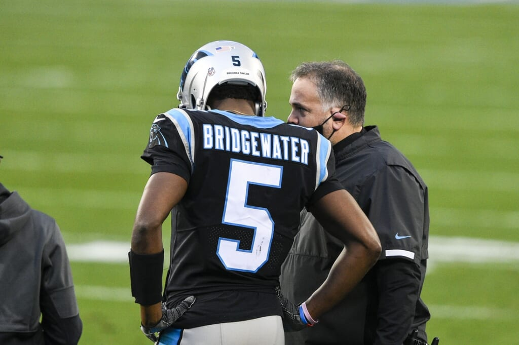 Denver Broncos trade for Teddy Bridgewater