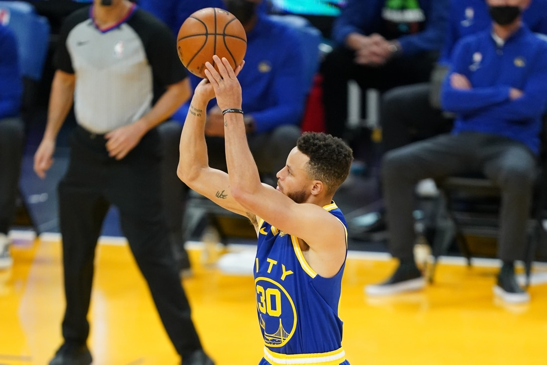 Golden State Warriors' star Stephen Curry ruled out vs ...