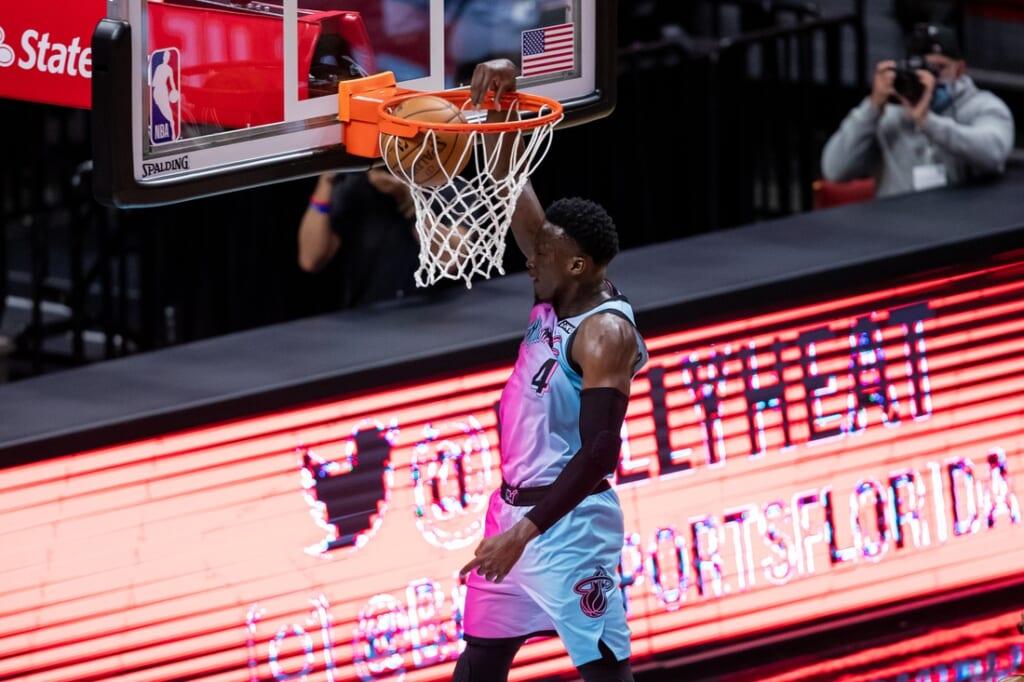 Miami Heat guard Victor Oladipo out for the season
