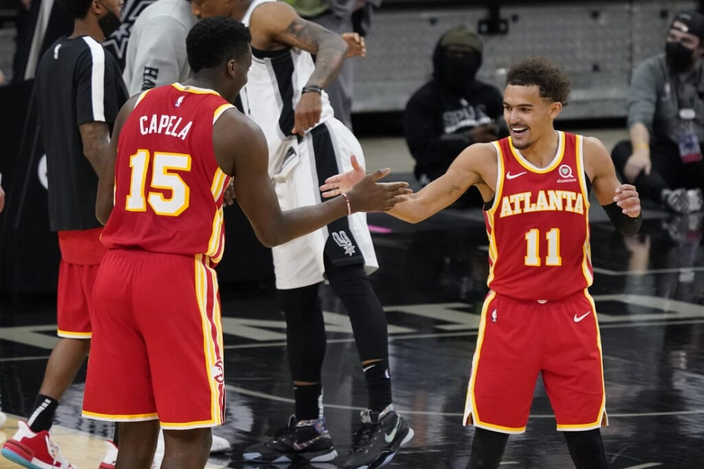 NBA Playoffs: Clint Capela, Houston Rockets