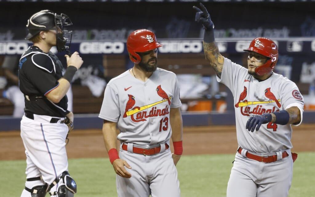 St. Louis Cardinals star Matt Carpenter continues his struggles.