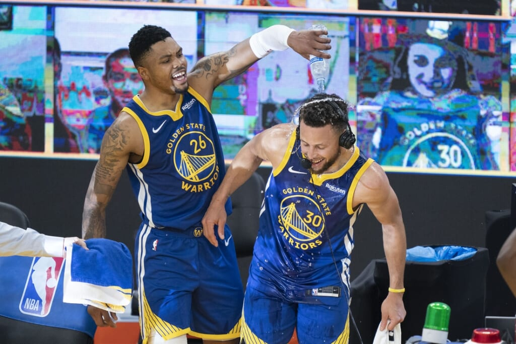 NBA players under pressure: Stephen Curry