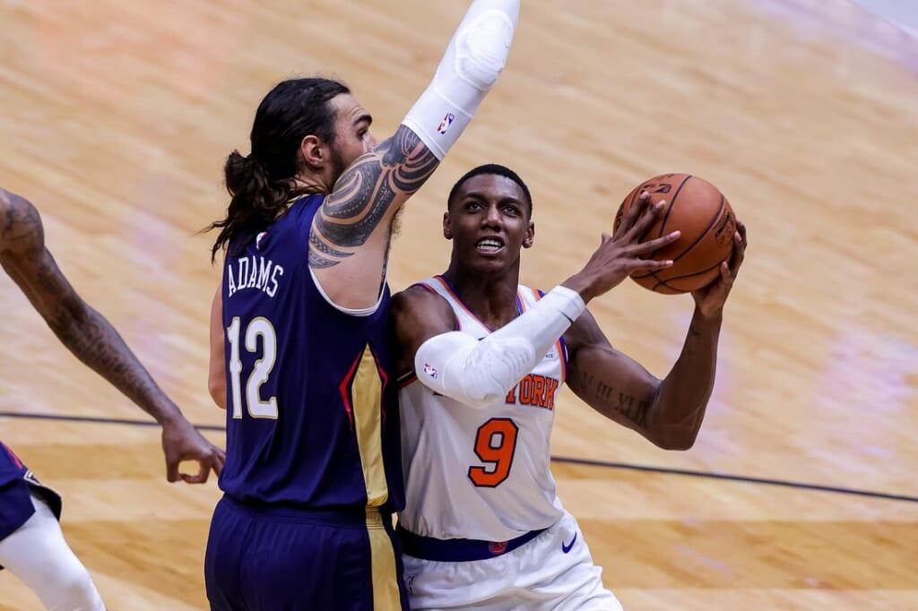 NBA Playoffs: R.J. Barrett, New York Knicks