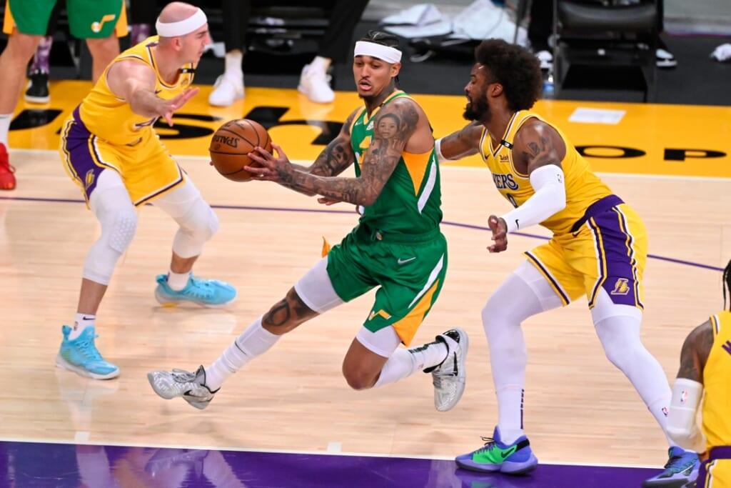 NBA Playoffs: Jordan Clarkson, Utah Jazz