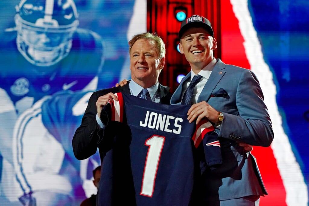 New England Patriots rookie QB Mac Jones