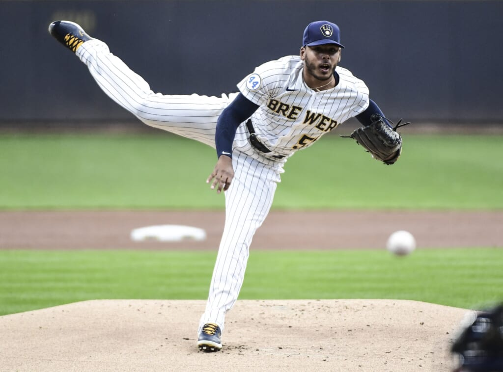 Milwaukee Brewers' National League pennant hopes rest on starting rotation