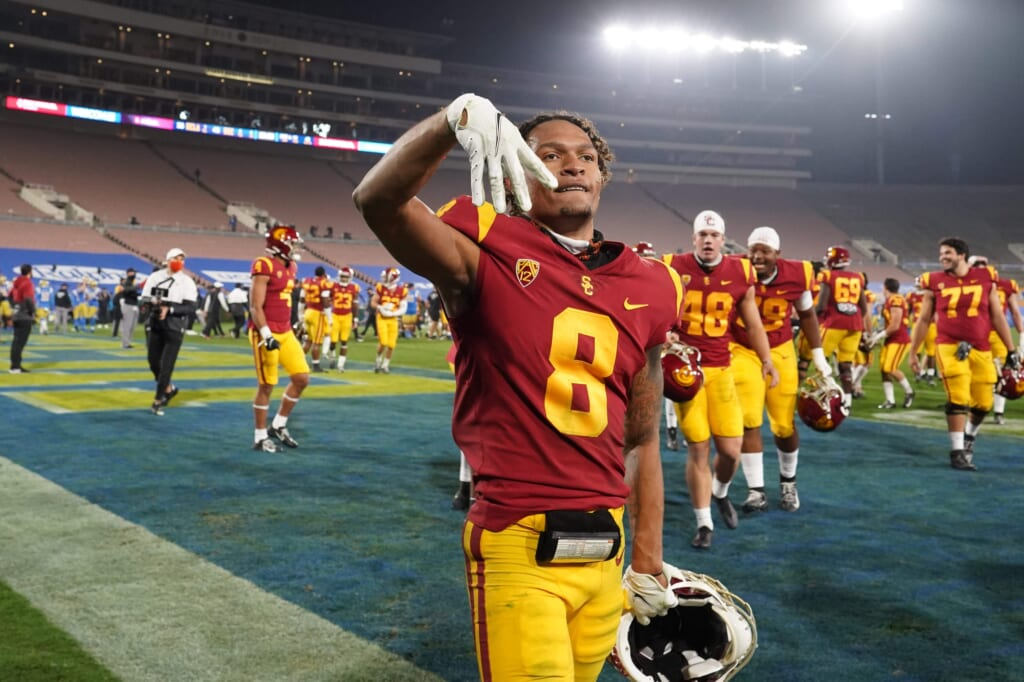 Los Angeles Rams mock draft: Amon-Ra St. Brown