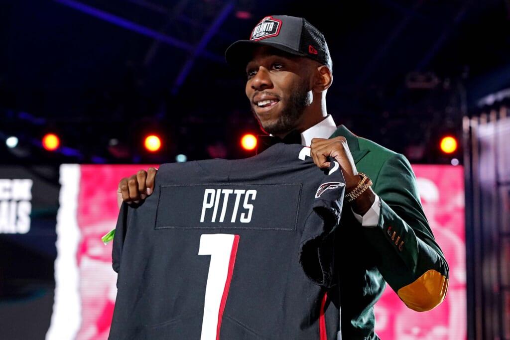 Impact of Atlanta Falcons drafting Kyle Pitts