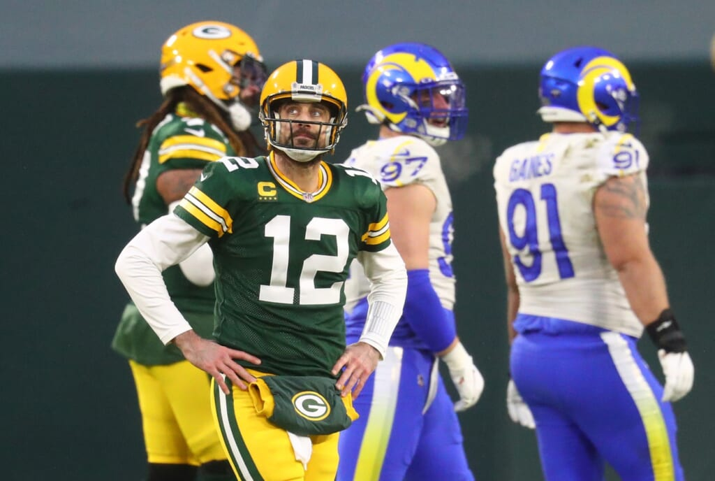 Aaron Rodgers doubts he'll finish career with Packers