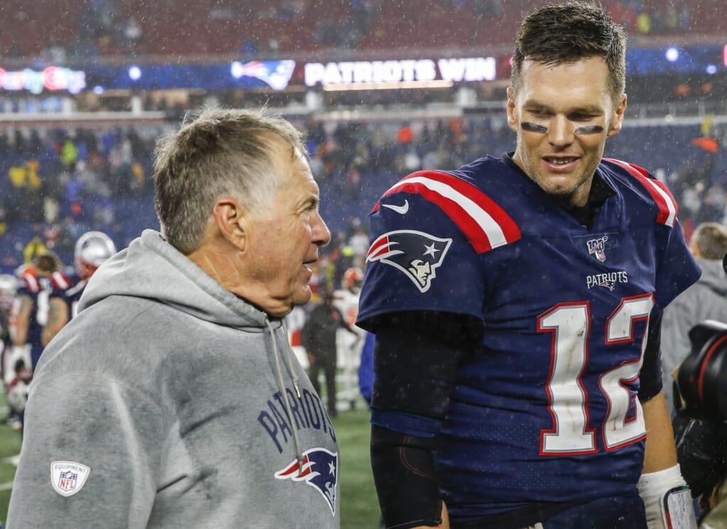 Bill Belichick-Tom Brady debate is completely overblown