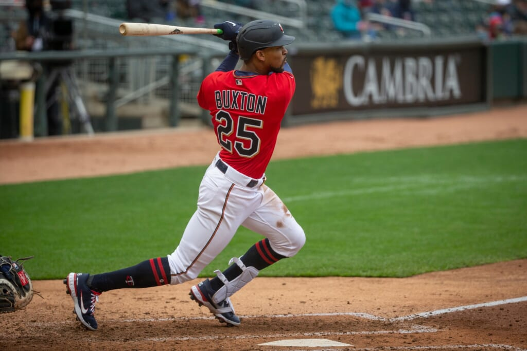 Byron Buxton's refined plate approach is paying off