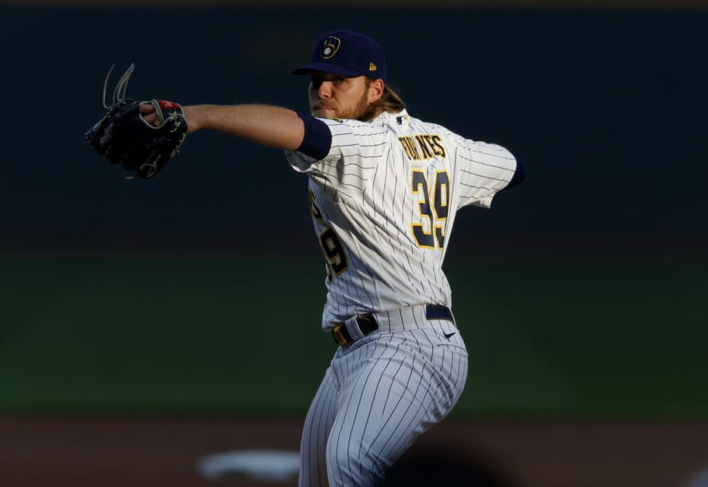 Milwaukee Brewers starting rotation has never looked better