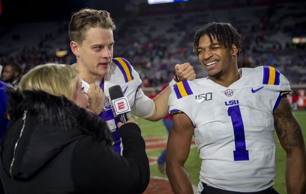 Joe Burrow keeping it professional as Bengals form draft strategy