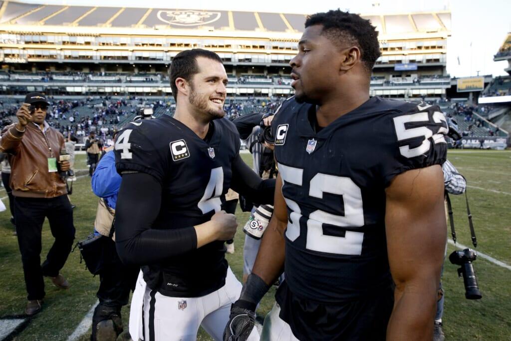 Insane 2021 NFL Draft trade scenarios: Las Vegas Raiders trade Derek Carr to Chicago Bears