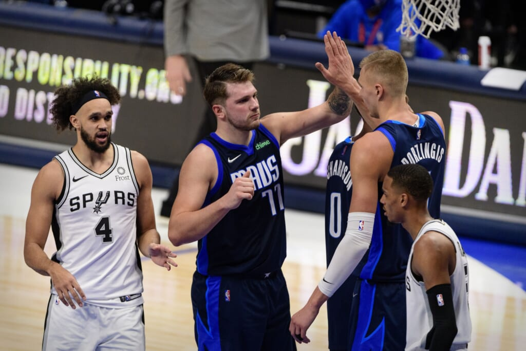 Ranking Dallas Mavericks potential NBA play-in tournament opponents: 1. San Antonio Spurs