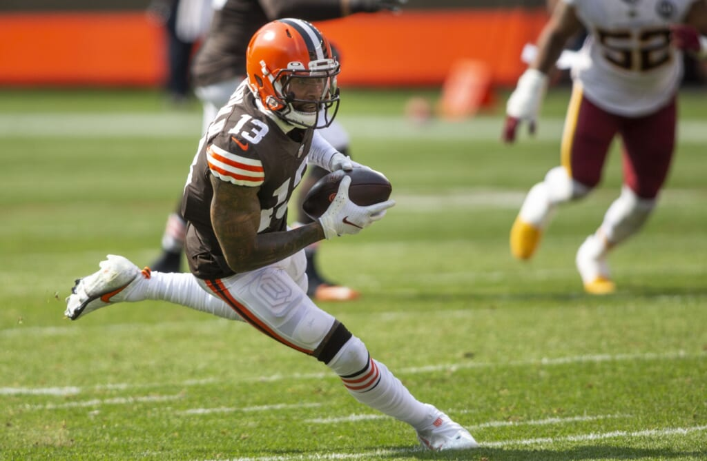 Insane 2021 NFL Draft trade scenarios: Odell Beckham Jr. to New England Patriots