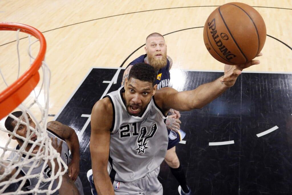 All-Time NBA Top Scorers: San Antonio Spurs, Tim Duncan