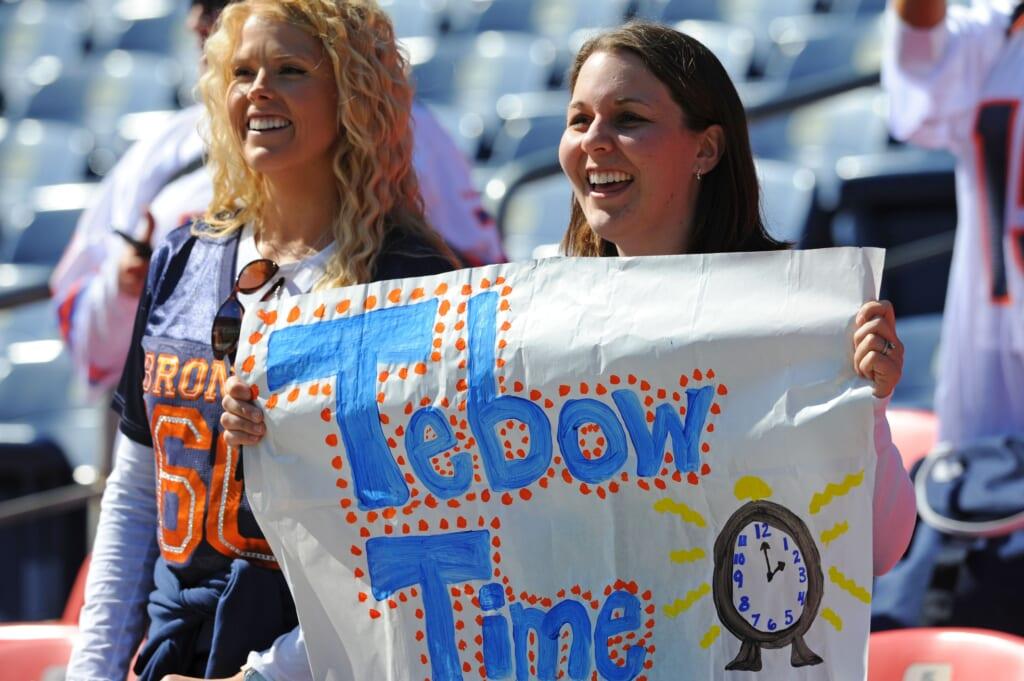 Tim Tebow. NFL Jacksonville Jaguars