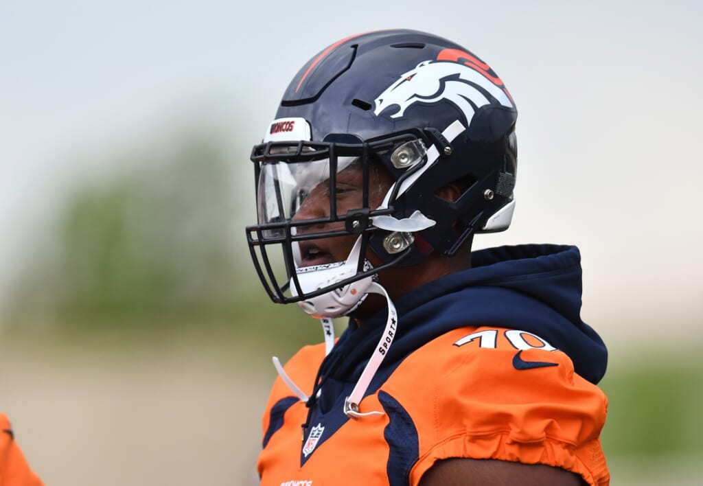 Broncos Ja'Wuan James, NFL and NFLPA issues