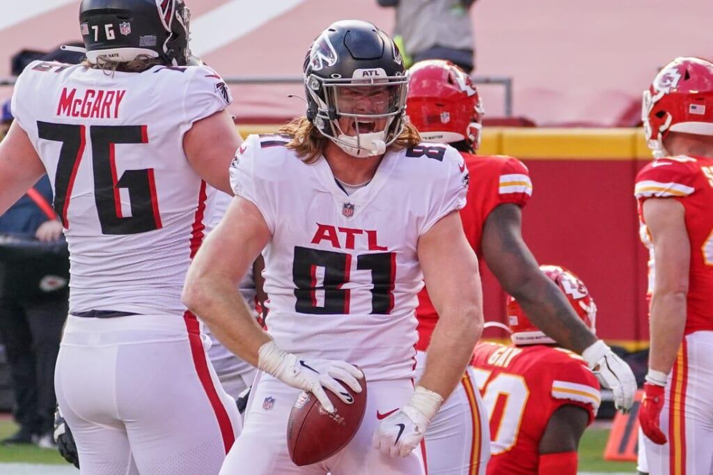 NFL players: Hayden Hurts, Atlanta Falcons