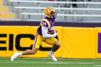 LSU's Derek Stingley Jr. named PFF's No. 2 prospect in 2022 NFL Draft