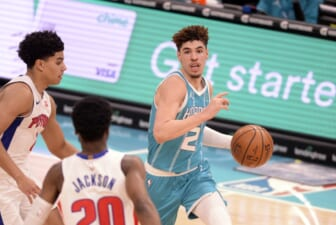 Charlotte Hornets' LaMelo Ball named 2020-21 NBA Rookie of the Year