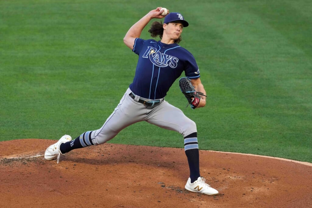 Tampa Bay Rays staff is holding down the fort, but offense is lacking