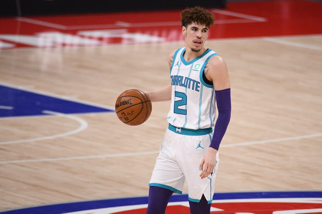 LaMelo Ball over Anthony Davis was a crime