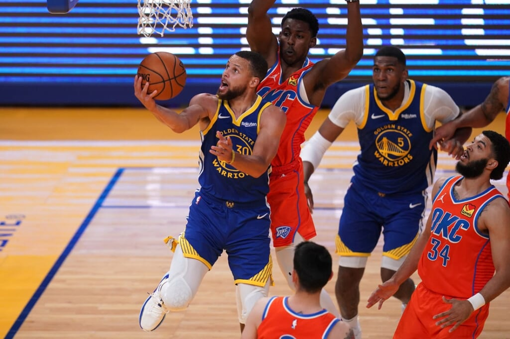 NBA leading scorer, Stephen Curry