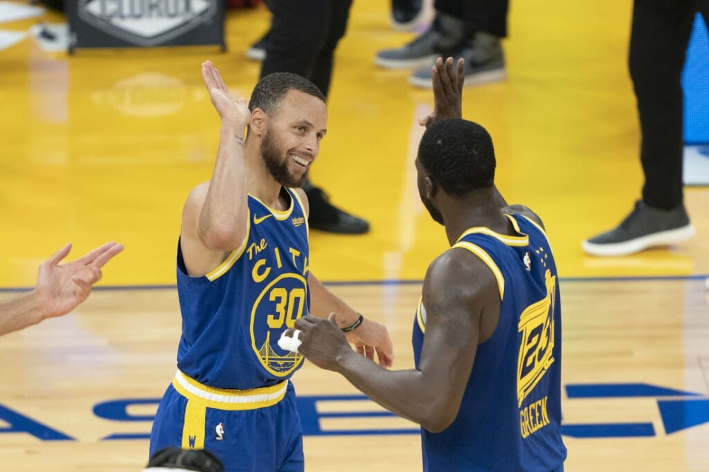 Golden State Warriors, Stephen Curry, Draymond Green