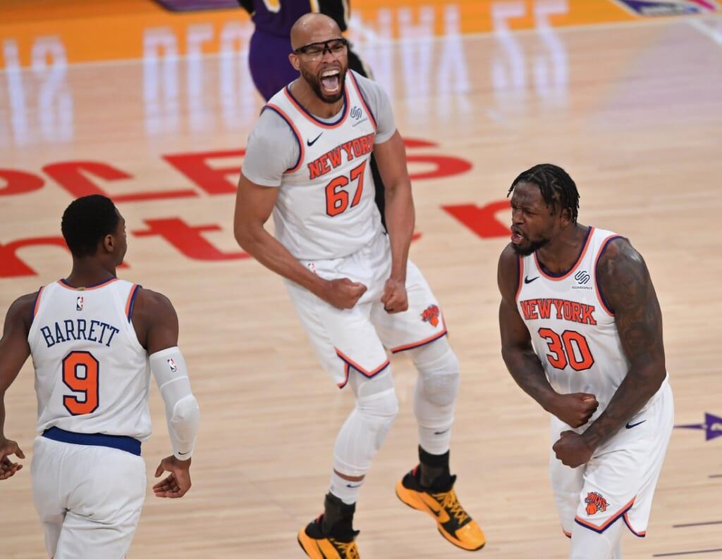 New York Knicks wing R.J. Barrett
