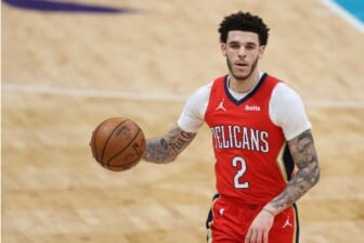 The Knicks' interest in Lonzo Ball could complicate things