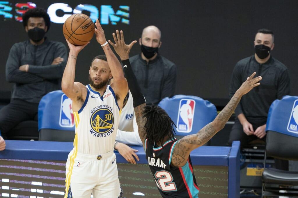 2021 NBA Playoffs: Stephen Curry, Golden State Warriors