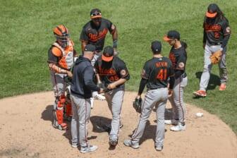 Baltimore Orioles roster rebuild