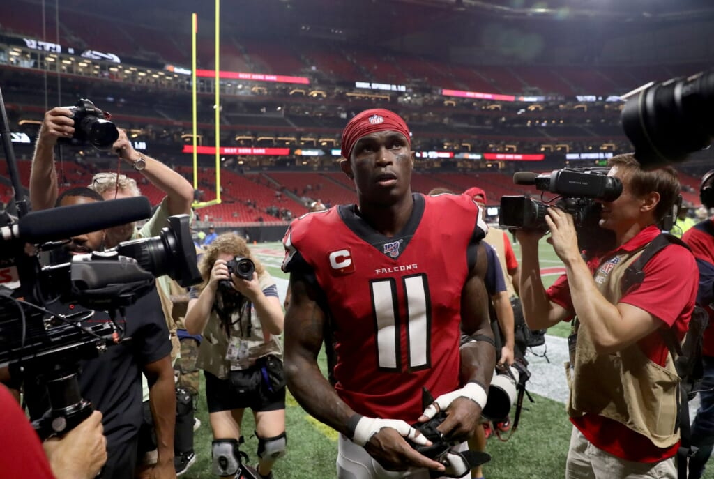 Julio Jones interested in trade to these two teams