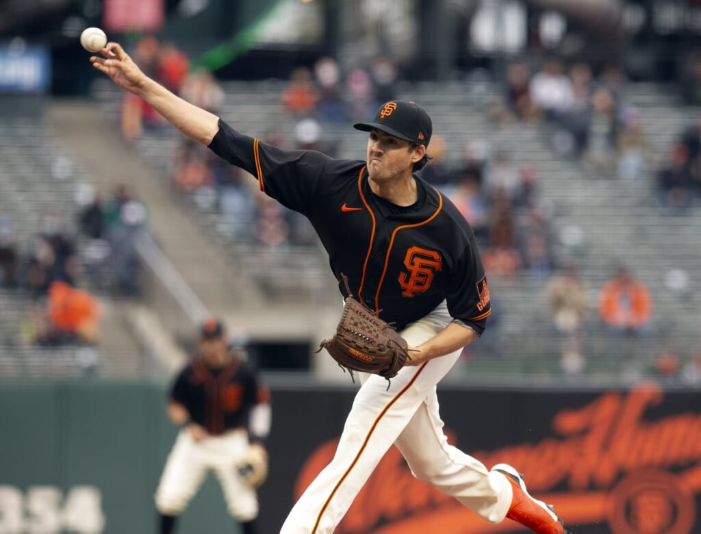 San Francisco Giants are winning with starting pitching