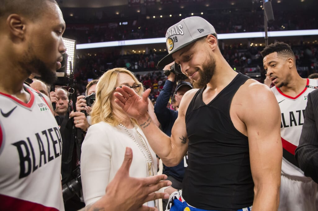 Damian Lillard trade to the Golden State Warriors