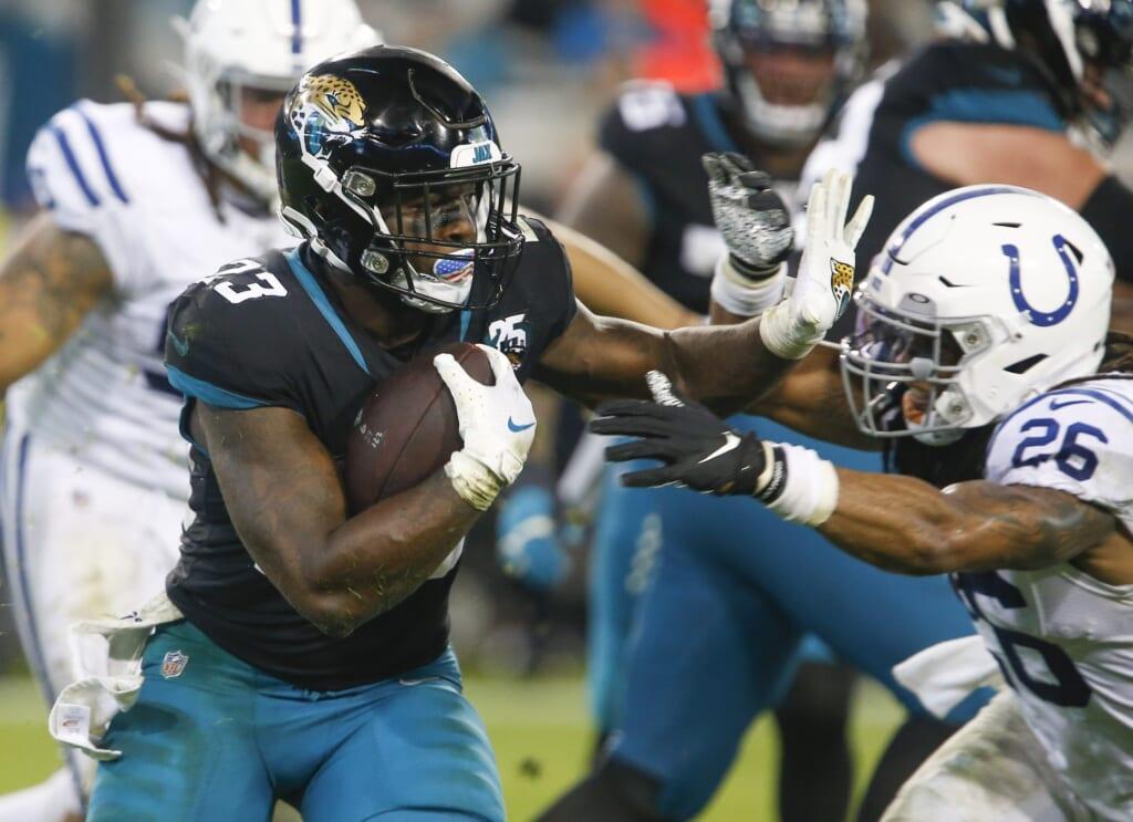 Jacksonville Jaguars waive Ryquell Armstead