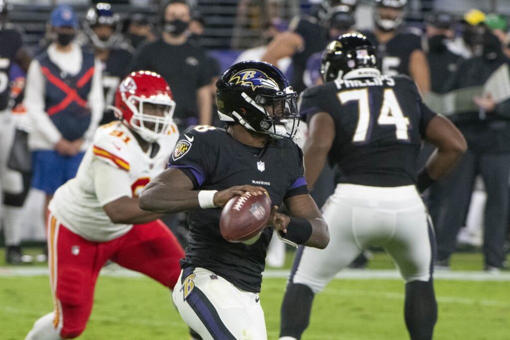 Kansas City Chiefs schedule, Baltimore Ravens
