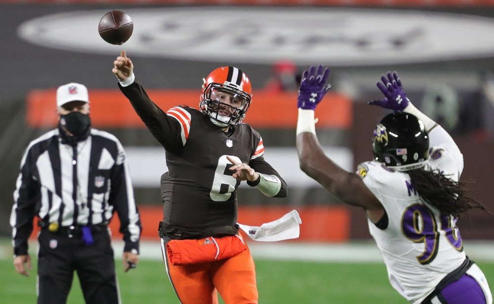 Baltimore Ravens schedule, Cleveland Browns
