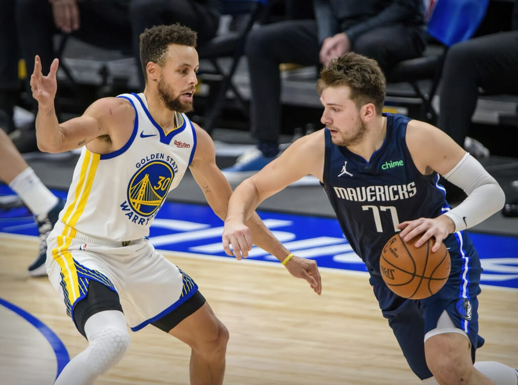 NBA MVP candidates: Luka Doncic, Stephen Curry
