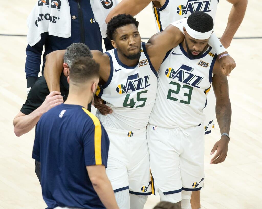 NBA injuries: Donovan Mitchell