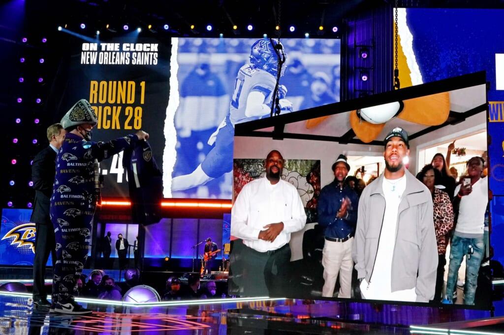 NFL rookies: Rashod Bateman, Baltimore Ravens