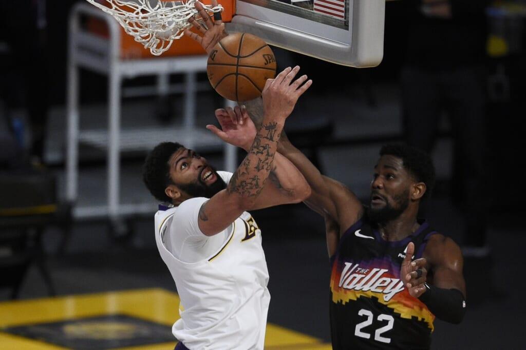 Los Angeles Lakers Anthony Davis, Phoenix Suns Deandre Ayton